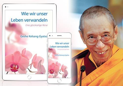 Der Ehrwürdige Geshe Kelsang Gyatso Rinpoche, der Autor des Buches.