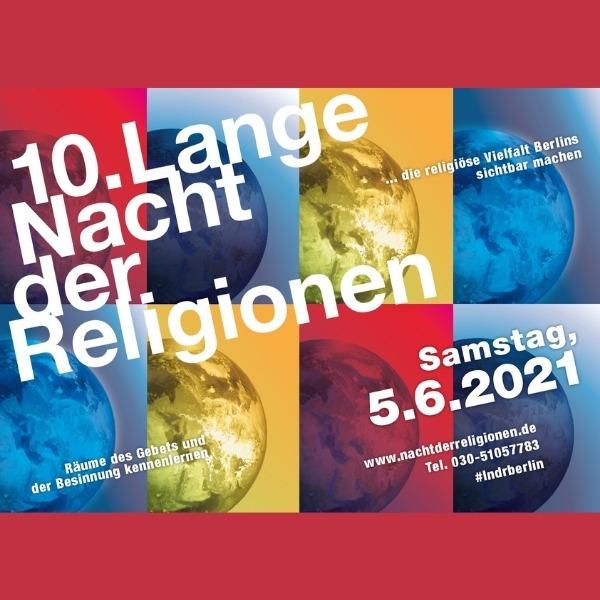 Online: Lange Nacht der Religionen 2021
