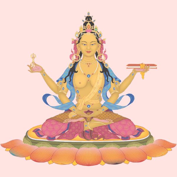 Die Große Mutter. Prajnaparamita Ermächtigung und Kommentar